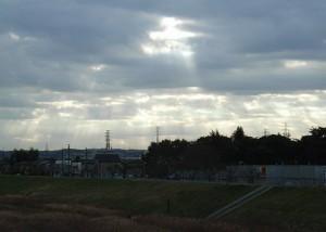 日野橋より