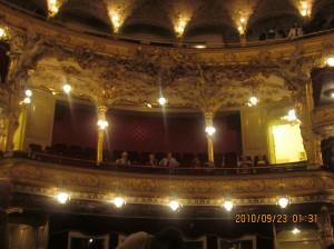 オペラ座の席
