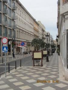 ブタペスト近代的な街並み