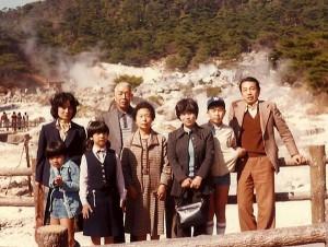 九州旅行家族写真のコピー